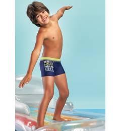 Sunga menino azul Boxer Surf