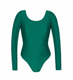 Body manga longa shine green Duna Green Body