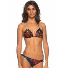 Bikini fundo preto Coral Preto Ripple