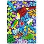 Canga Aves Tropicais Naif