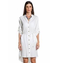 Camisao white praia Chemise Gold Branco