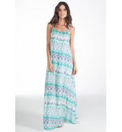 Vestido londo estampa azul Vestido Blenda