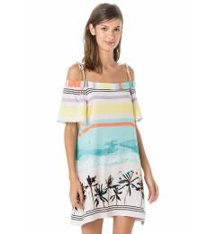 Vestido praia babado - Vestido Drone