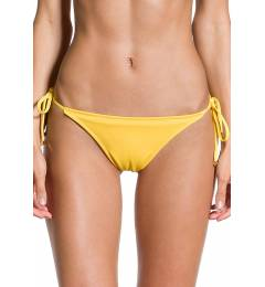 Calcinha lisa amarela frufru - Bottom Sol Amarelo