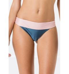Calcinha duo rosa e azul reta - Bottom Miracle Liso Bicolor