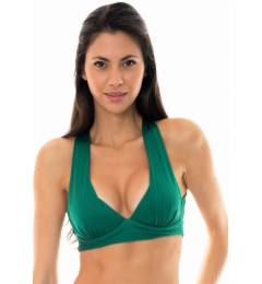 Top fitness shine green Duna Green Top Fitness