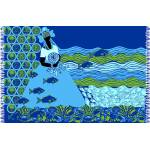Canga de praia Bali Blue Iemanja Goya