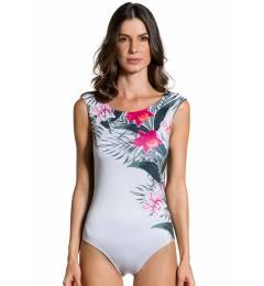 Body localizado frente costas lisa - Body Flor De Kaki