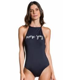 Body preto detalhe costas - Body More Joy
