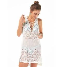 Vestido de praia renda Saida Renda
