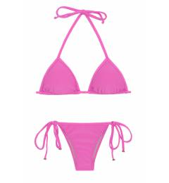 Biquini Tri Pink Lacinho Bikini Tri