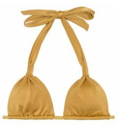 Top de biquini regulavel dourado Soutien Gold Cortinao