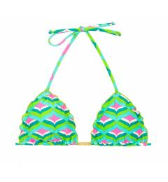 Top frufru triangulo sereia Top Mermaid Frufru